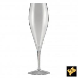Plastová sklenice na stopce, na pivo, nerozbitná 375ml, Gold Plast
