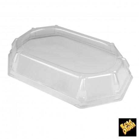 Plastové víko Octagon Maxi, průhledný 475x325mm - Gold Plast