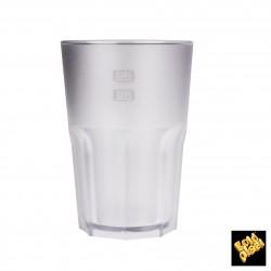 Plastová sklenice Granity 400 ml transparentní, nerozbitná, Gold Plast
